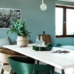 New Decoration Styles Those Created With 5 Tones of Green