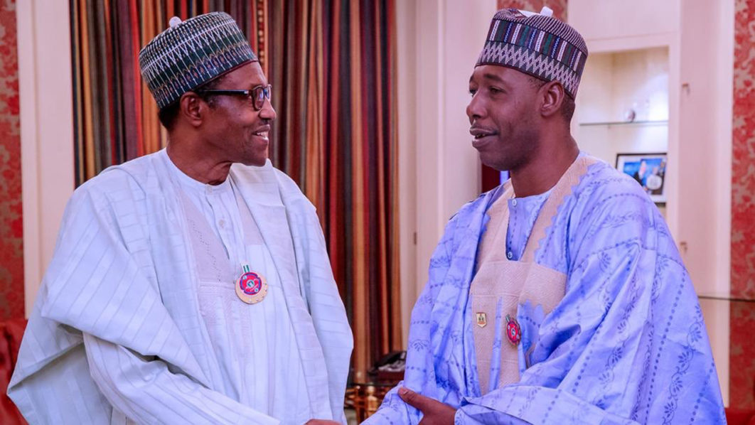 Buhari arrives Maiduguri for official visit
