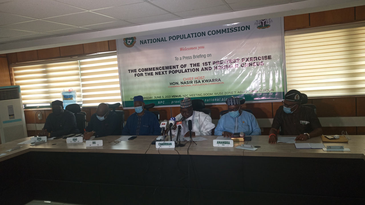 NPC to commence pre-test census exercise June 6 – Chairman