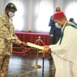 Nwachukwu presents Letters of Credence to Mali's Transitional President, Goita