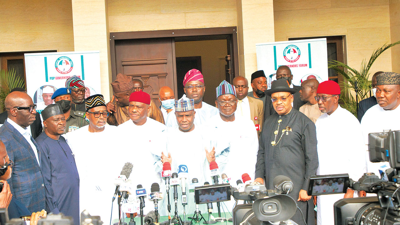 Secondus: PDP governors' six-hour meeting deadlocked