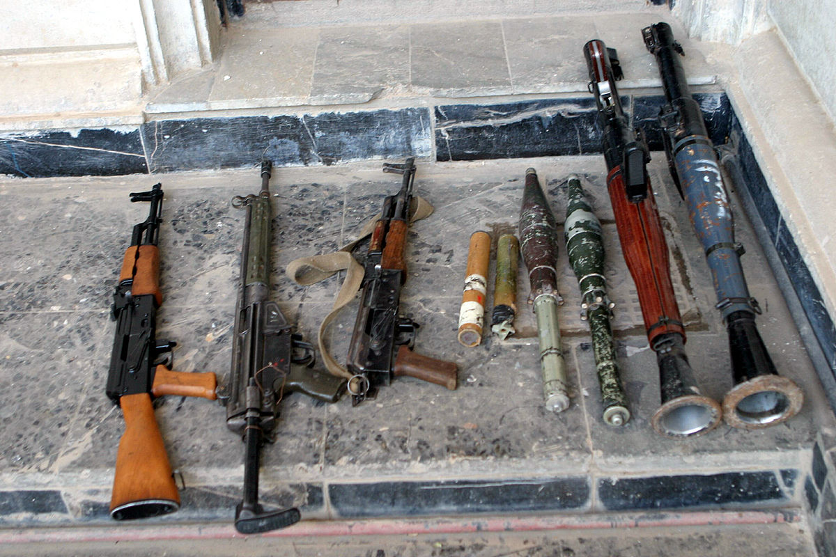 How soldiers sell arms to survive in North East, by naval officer