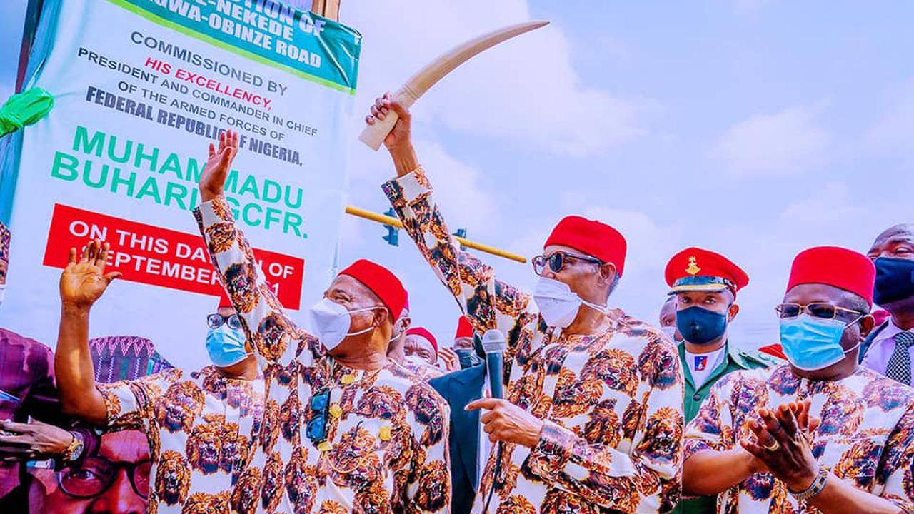 Politics, echoes of President Buhari's visit to Owerri