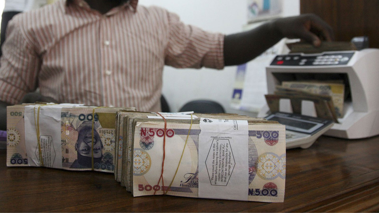 External reserves hit two-month high, as naira plunges further