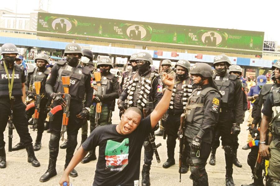 Arrests, police brutality headline #EndSARS memorial in Lagos, Abuja